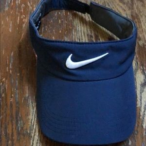 Nike visor color navy blue